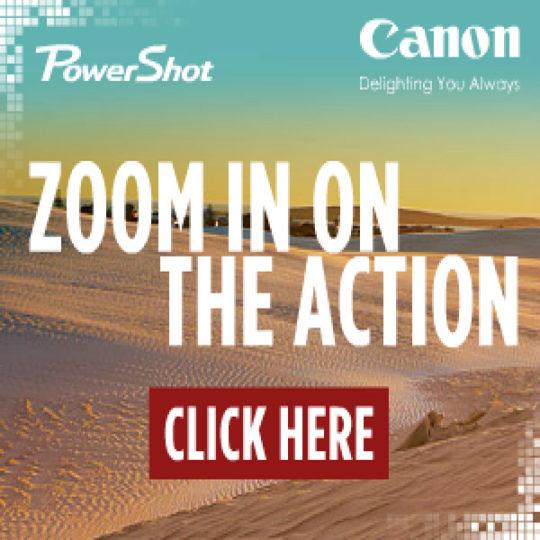 Canon PowerShot Expandable Banner