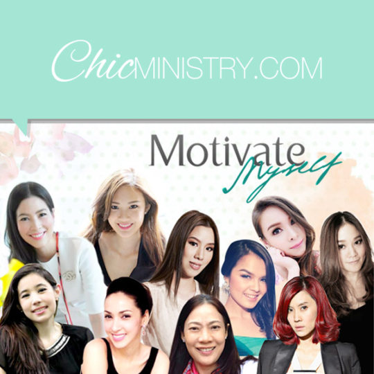 ChicMinistry – Motivate Myself Campaign