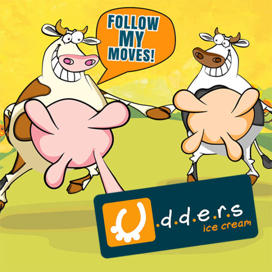Udders Musical Mammary Game